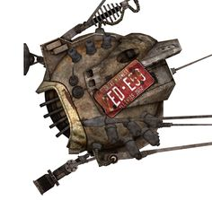 ED-E (Fallout: New Vegas).  My favorite follower in the game.