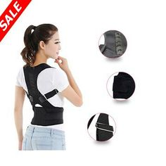 Ancient Remedies - Magnetic Therapy Posture Corrector Brace Shoulder Back Support Belt for Men Women Braces Shoulder Posture Corrector, Posture Corrector For Men, Better Posture, Bad Posture, Posture Support Brace, Upper Back Brace, Shoulder Brace, Magnet Therapy, Posture Correction