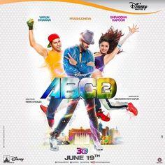 'ABCD 2' poster featuring Varun Dhawan, Shraddha Kapoor and Prabhudheva #Bollywood #Movies #ABCD2
