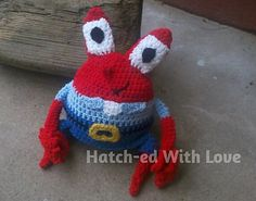 Ravelry: Mr. Krabby pattern by Jennifer Hatch