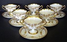 Judith Ravnitzky, specialist in European porcelain and fine glass online catalog Vintage Crockery, Antique Dishes, Dresden China, China Tea Cups, Chocolate Pots, China Patterns, Fine Porcelain, Tea Cup Saucer, Fine China