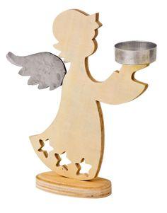 Engel-Teelichthalter - Weihnachtsstimmung in Ihrem Haus (Woodworking Christmas)