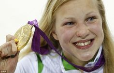 Lituana Ruta Meilutyte,15 year old wins Gold London 2012 Olympic Games