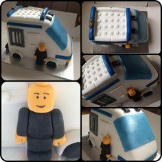 Lego police vehicle cake :) #cake #sugarcraft #legopolice #legopolicecake #legocake