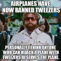 Air plane humor