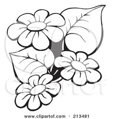 Coloring Flowers Clip Art - Coloring Flowers Clip Art , Free Printable Mother S Day Coloring Pages Embroidery Designs, Hand Embroidery, Flower Outline, Flower Silhouette, 3d Quilling, Black And White Flowers, Flower Sketches, Flower Clipart, Colorful Flowers