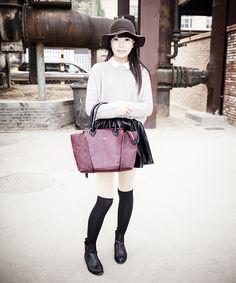 Lo street style della Beijing Fashion Week: ultimo giorno alla Settimana della Moda di Pechino