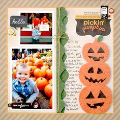 Pickin' Pumpkins - Scrapbook.com