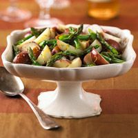 Lemony Asparagus and New Potatoes Recipe