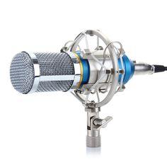 Condenser Microphone Ideal for radio broadcasting studio, voice-over sound studio, recording - www.remix-numerisation.fr - Rendez vos souvenirs durables ! - Sauvegarde - Transfert - Copie - Digitalisation - Restauration de bande magnétique Audio - MiniDisc - Cassette Audio et Cassette VHS - VHSC - SVHSC - Video8 - Hi8 - Digital8 - MiniDv - Laserdisc - Bobine fil d'acier - Digitalisation audio
