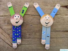 children, refrigerator, crafts, craft, magnets,