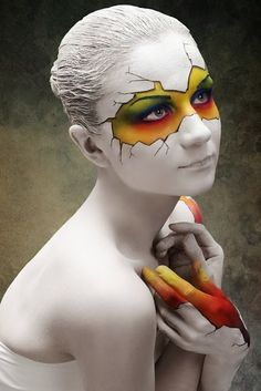 Cool Face Painting Ideas   Time for the Holidays
