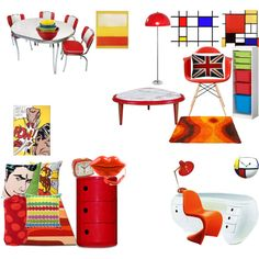 """Pop Art Decor"" by pinnipederson on Polyvore"