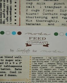 CP Feed Company   Moda Fabric   Sweetwater   Feed Company Wrong Turn, Charm Pack, Fabrics, Bullet Journal, Tejidos, Scraps Quilt, Cloths, Fabric, Textiles