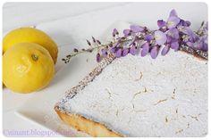 Tartaleta de Limón (tipo Lemon Bars)