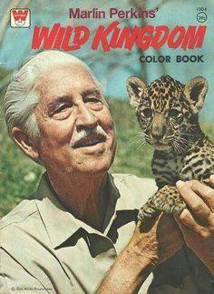 Wild Kingdom! ❤️❤️❤️❤️ Marlin Perkins - everybody's cool grandpa in the 70s (Read more...)