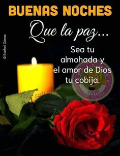 Good Night In Spanish, Love In Spanish, Good Night Blessings, Good Night Messages, Good Morning Love, Motivational Phrases, Good Night Image, Me Quotes, My Love
