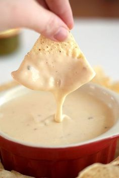 This Crock Pot Queso Blanco Dip recipe is my version of the popular Mexican white cheese dip that is served at your favorite Mexican restaurant! You won't believe how easy this dip is to make at home in your crock pot!