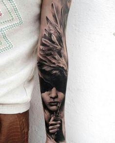 Tattoo Sleeve Angel
