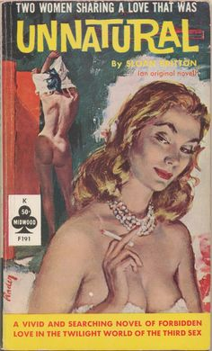 UNNATURAL | pulp cover vintage art
