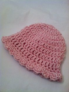 Newborn Baby Girl Cozy Crochet Baby Hat in by LakeviewCottageKids, $18.00