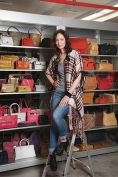 I would LOVE to see all those vintage Coach bags... they all look so fab. i want her job! lol  Full-Tilt: Kerry Diamond Helms Coachs PR Team And Two Brooklyn Hot Spots my-style