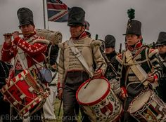 Waterloo 1815, Napoleonic Wars, British Army, History, Hats, Military Men, Musicians, Historia, Hat