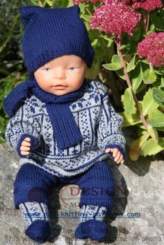 knitting patterns for baby born doll Beautiful Children, Beautiful Dolls, Knit Crochet, Crochet Hats, Bitty Baby, Baby Born, 18 Inch Doll, Baby Knitting Patterns, Kids And Parenting