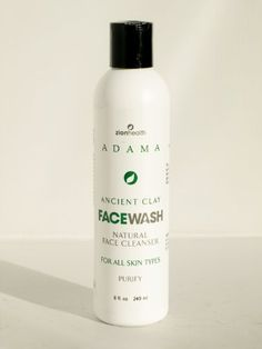Adama Minerals Ancient Clay Face Wash 8 Ounces >>> Continue to the product at the image link.