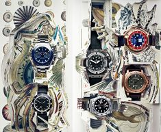 Photograph by James Day.  #VanityFair #Advertising #RobertBattams #JamesDay #StillLife #Photography #Editorial #Watches