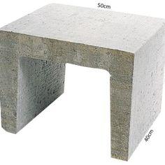 U-element 40x40x50 Grijs 7000244
