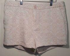 Trixie + Lulu Short 13/14 Shorts 97% Cotton Spandex Cream Classy #TrixieLulu #CasualShorts