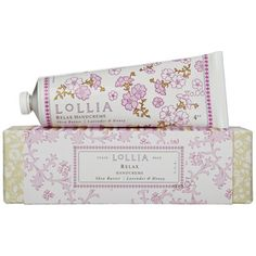 Lollia Relax- awesome hand cream :-)
