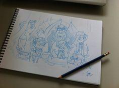 Monster Falls by Trixies-Wish.deviantart.com on @DeviantArt