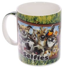 Fun Animal Selfie Howard Robinson New Bone China by getgiftideas