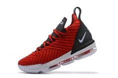 645022661d985 Excitement Nike LeBron 16 RED WHITE BLACK Men s Basketball Shoes James Shoes  Lebron 16