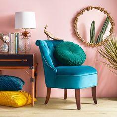 Pleated Velvet Round Throw Pillow - Opalhouse™ : Target