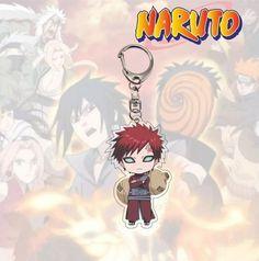 Hot Naruto Anime Gaara Acrylic Keychain #Unbranded