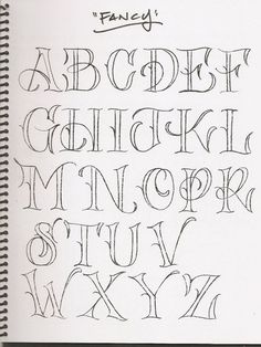 Best 25 Fancy Letters Ideas On Fancy Writing by Fancy Way To Write Letters Letter Template Hand Lettering Alphabet, Doodle Lettering, Creative Lettering, Calligraphy Letters, Lettering Guide, Caligraphy, Fancy Fonts Alphabet, Capital Letter Fonts, Lettering Tattoo