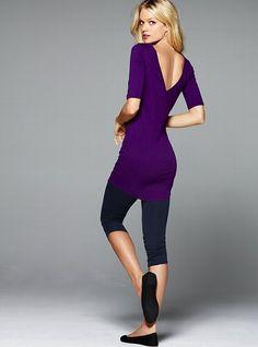 Ruched Crop Daily Legging - Victoria's Secret