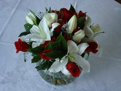 thinking of buying this mix of casablanca lilies and red roses for my mom's birthday