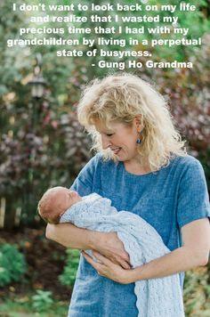 Gung Ho Grandma ... go to gunghograndma.com for great ideas for grandmas! Grandchildren, Grandkids, Gung Ho, Grandma Quotes, Special Quotes, Infant Activities, Children And Family, Looking Back, Cool Kids