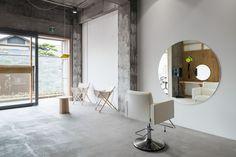 sides core equip beauty salon japan designboom