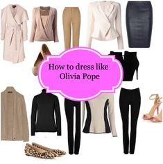 How to dress like Olivia Pope