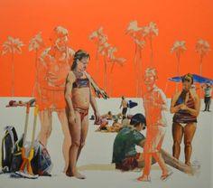"""Saatchi Art Artist Stella Kapezanou; Painting, """"heavens 1"""" #stellakapezanou #art"""