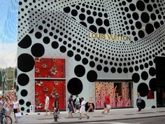 To be honest I'm not sure what Yayoi Kusama's work is about but I love the visual elements she uses, but I guess it's about the vastness of the universe?