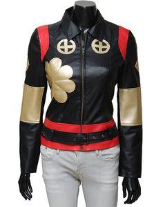 1797bb4cc4b Katana Suicide Squad Black Leather Jacket at Amazon Women's Coats Shop Coats  For Women, Motorcycle