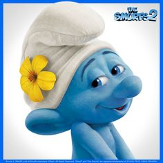 Self-obsessed? Yes, that he is totally!  Have you met Vanity from The Smurfs 2?