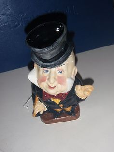 Sell one like this  STAFFORDSHIRE BURLEIGH WARE TOBY JUG FIGURE MR MICAWBER
