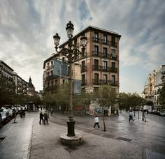 Lavapies by Turismo Madrid, via Flickr Great Places, Beautiful Places, Foto Madrid, Street House, I Want To Travel, Skyline, Best Cities, The Neighbourhood, Places To Visit